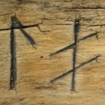 Gamla bruksföremål i trä