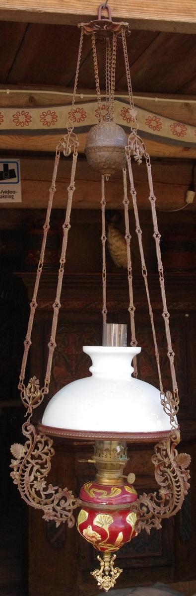 gamla antika lampor