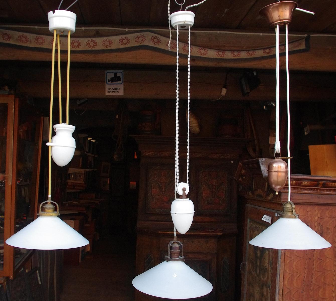 Gärdsjö Antik lampor